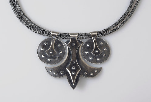 N400 Shield and Blade Necklace (SOLD)