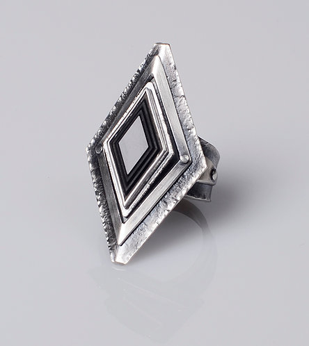 Layered Diamond Ring (SOLD)
