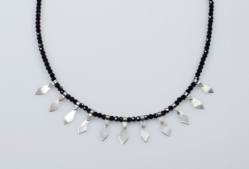 N310 Mini Dagger Spinel Necklace