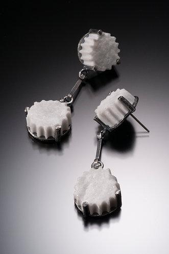 (Large) Double Drop Earrings (SOLD)