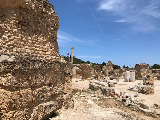 Antonin Baths in Carthage