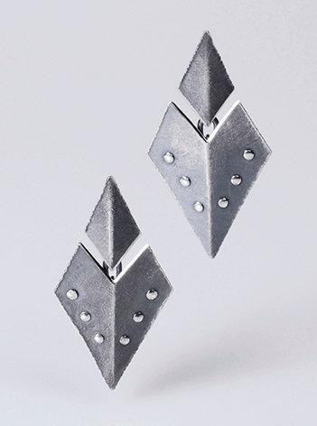 E91 Split Diamond Dangles