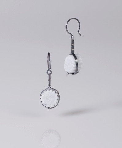 Single Strap and Fragment Earrings (SOLD)