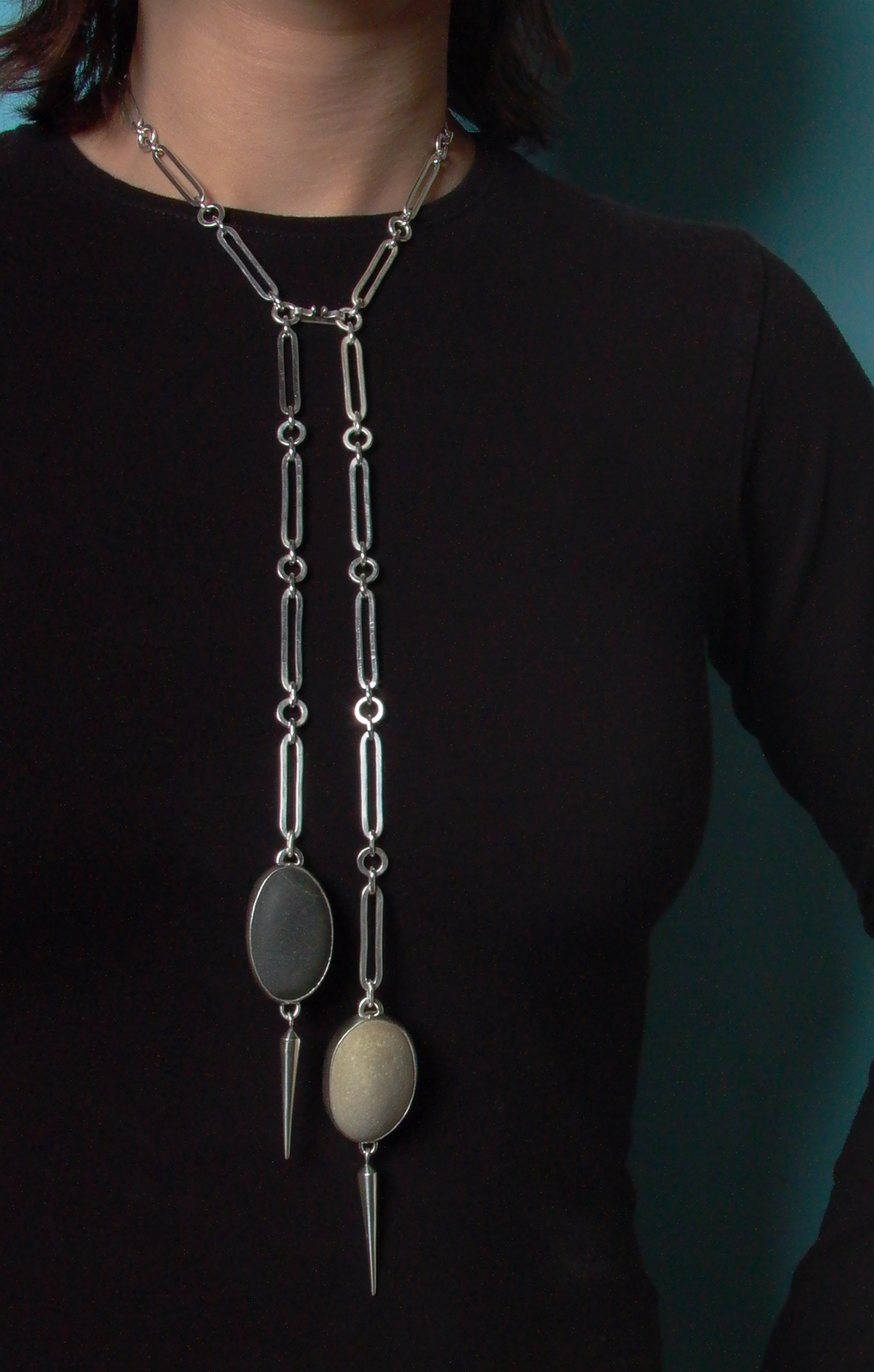 Long Doublerock Necklace