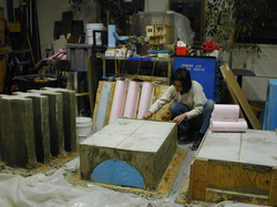 casting concrete forms