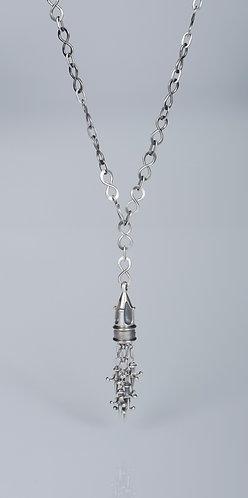N 85 Gothic Spire Tassel Necklace