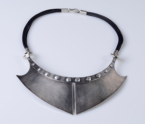N605 Gorget Collar Necklace (SOLD)