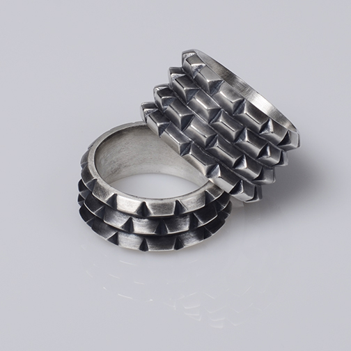 Rusticated Ring ( 3 & 5  Rows)