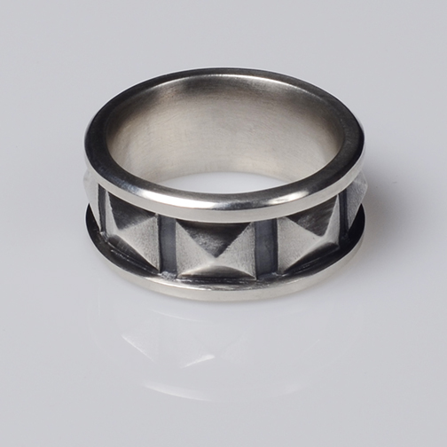 Square Rusticated Ring