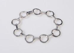 Link and Strap Bracelet