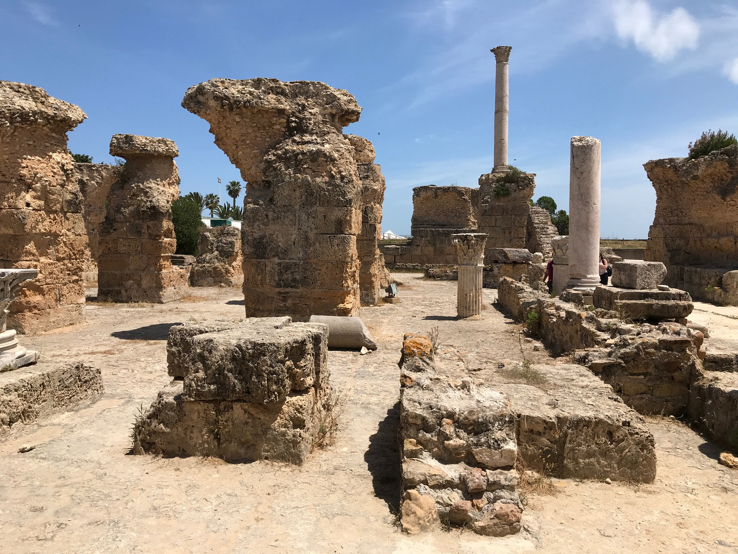 Carthage in Tunis, Capital city of Tunisia and ancient site of Carthage