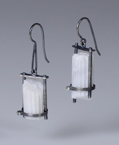 Trapped and Strapped Fragment Earrings