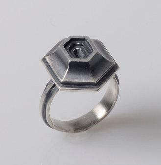 RC1 Hexagonal Coffer Ring