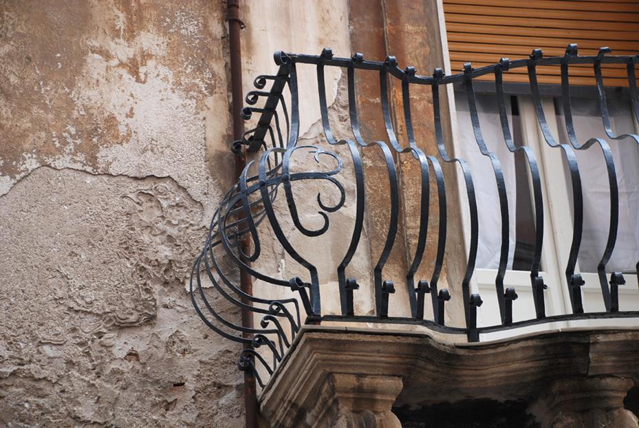Siracusa balcony detail