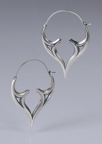 E35 Venetian Hoop Earrings
