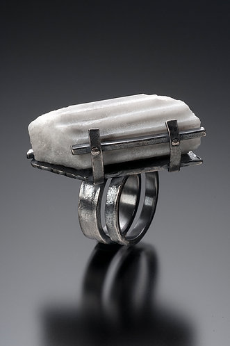 Angled Fence Fragment Ring (SOLD)