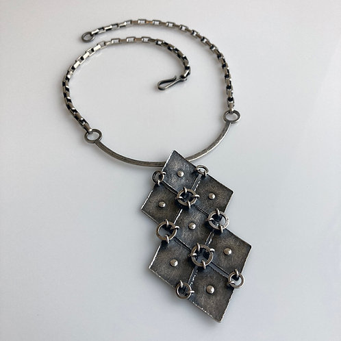 N132 Ring Maille Necklace