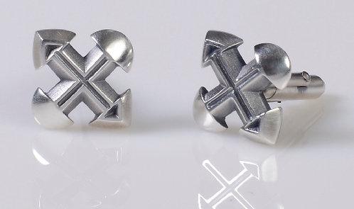 C4 Cross Cufflinks