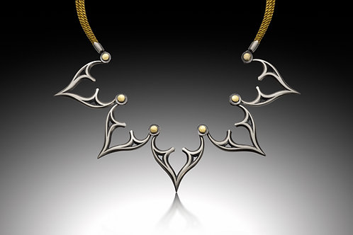 N35  Venetian Tracery Necklace