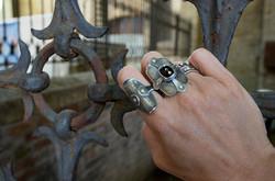 Fence outside Dante's Tomb - Ravenna