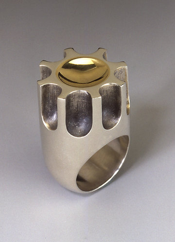 Fluted Column Ring #3 / edition of 10