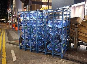 warehouse 5 five gallon water jug storage rack