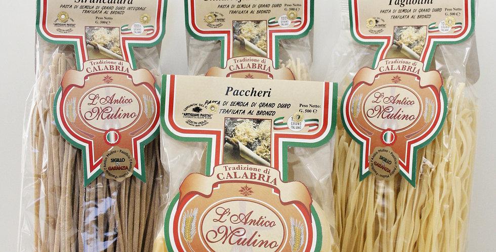 Vår bästa pasta med grov yta som ger dig en godare maträtt