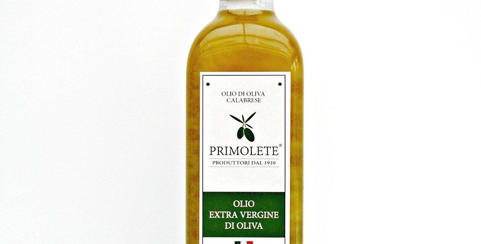 Den första pressningen Extra jungfrulig ekologiskt odlad olivolja 75 cl