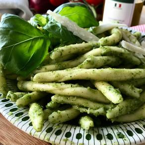 Grön pesto med Primolete filejia bianco