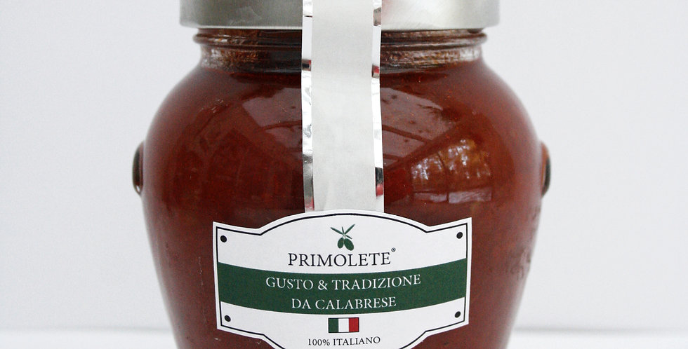 Tomatsås med IGP-klassad rödlök från Tropea 280 gram netto