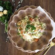 Påskinspirerad Pasta Tagliolini med kallrökt lax