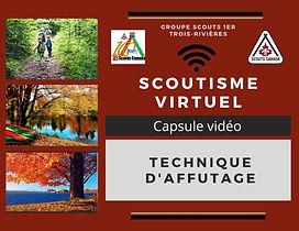 Scoutisme virtuel technique d'affutage.j