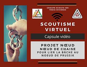 Scoutisme virtuel Noeud de chaise Prussi