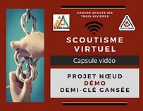 Scoutisme virtuel Démo demi-clé gansée.p