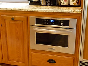 Aeg microwave oven built in
