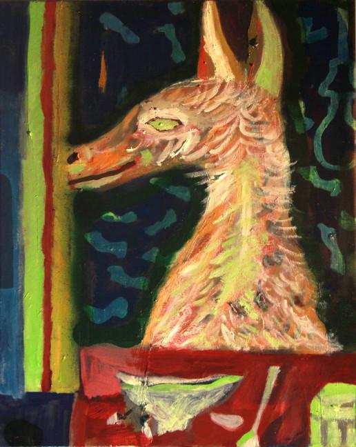 Morning Dog, Painting