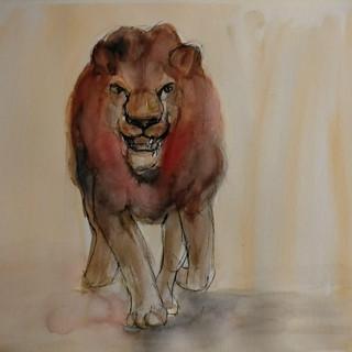 Lion, 2021, $425