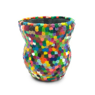 Perler Bead Vase, $45