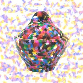 Perler Bead Moon Jar,  $45