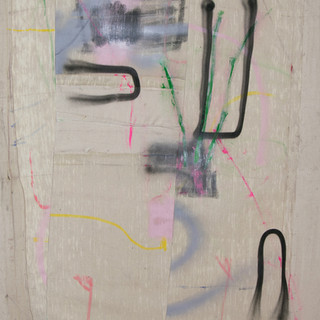 Within and outward, mixed media, 2020, $1200