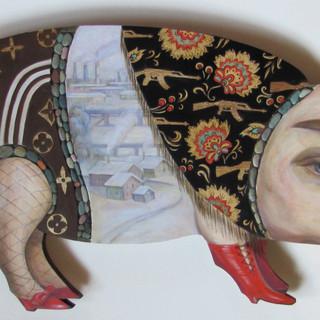 Folk Toy Series Pig, 2016, $5,000