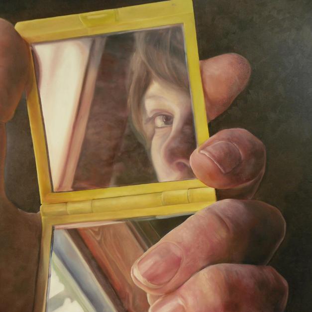 Maria Haag, Self Portrait