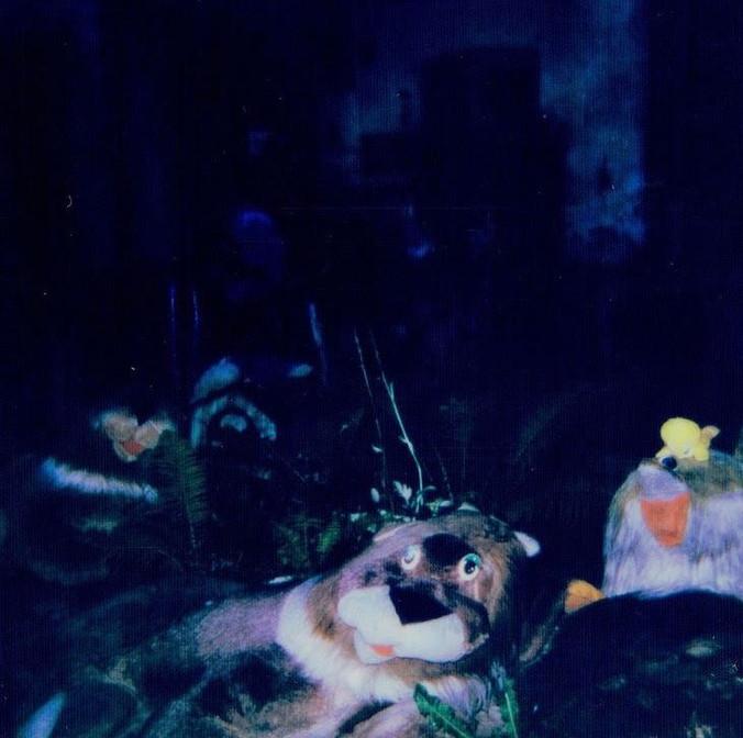 abandoned stuffed animals