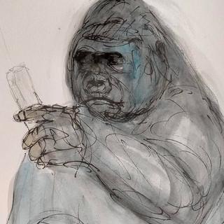 Ape, 2021, $400