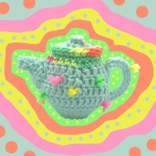 Crocheted T-Pot NFS