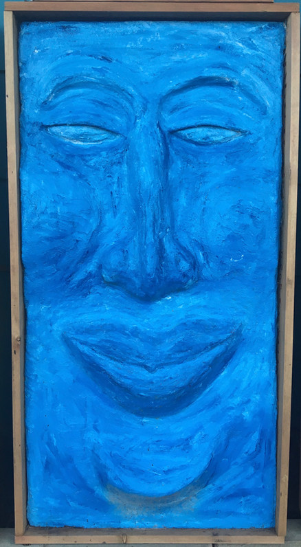 Buddha Blue, 2019