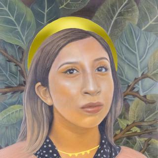 Thinking about Santa Muerta,  2020, $3000