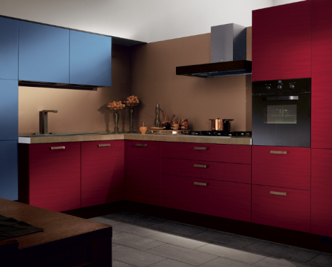 Пример итерьера кухни в стиле модерн