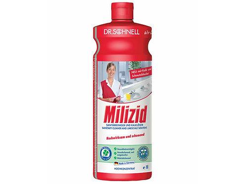 Средство для очистки санитарных зон и удаления отложений Milizid