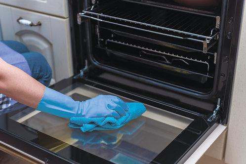 Чистка и дезинфекция кухонного оборудования:                   - духовой шкаф